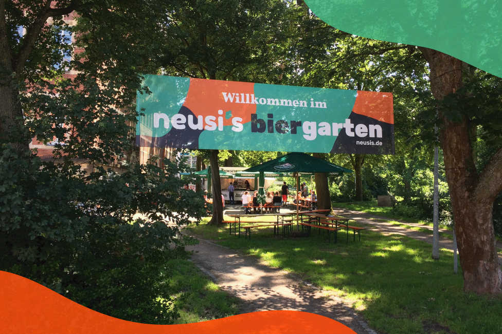 biergarten banner